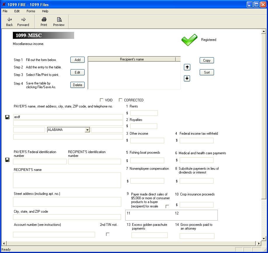 1099 misc software 79 print 289 efile 1099 misc software