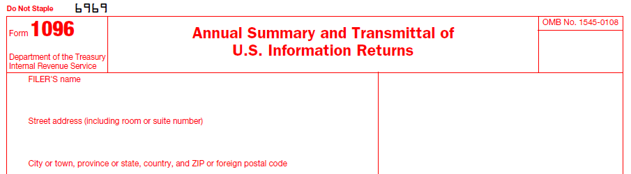 Irs Form 1096 Software Free No Cost 1096 Software