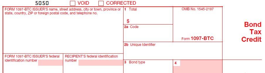 IRS Form 1097-BTC