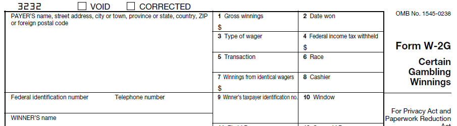 Gambling tax form sarnia ontario casino